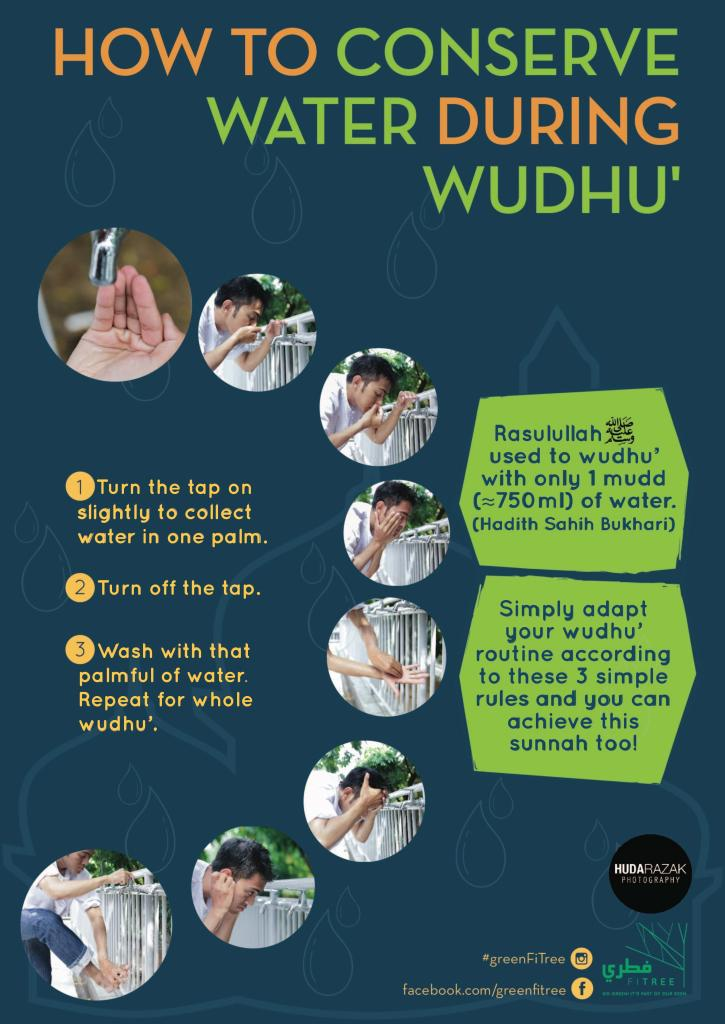 How to conserve water during wudhu Poster-page-001